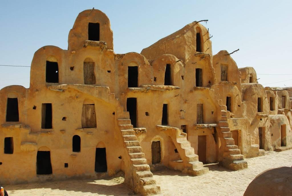 Maison troglodyte en Tunisie